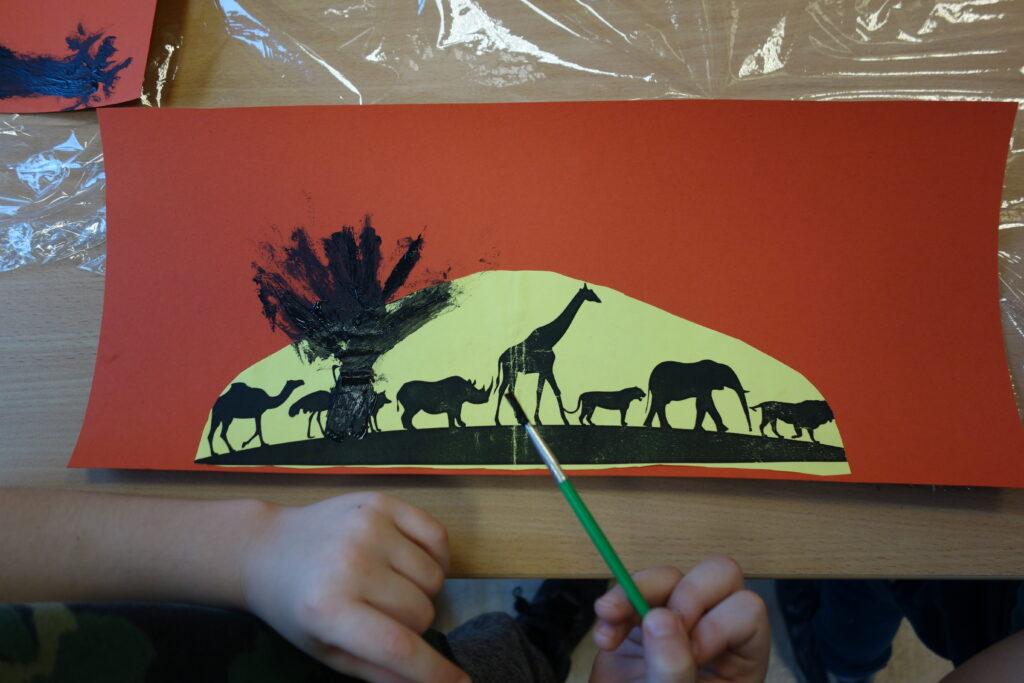 batik - afrykańskie malarstwo