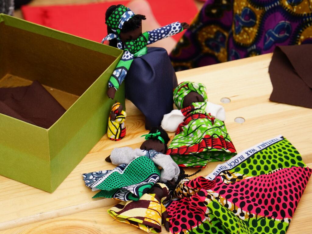 afrykańskie lalki - warsztaty