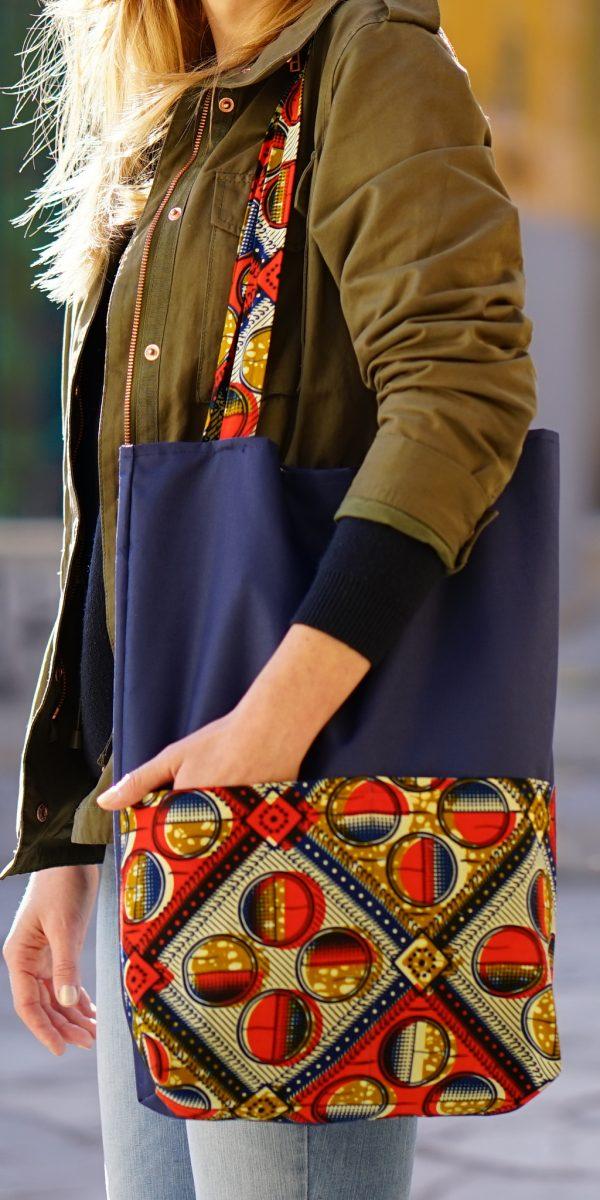 torba afrykańskie tkaniny