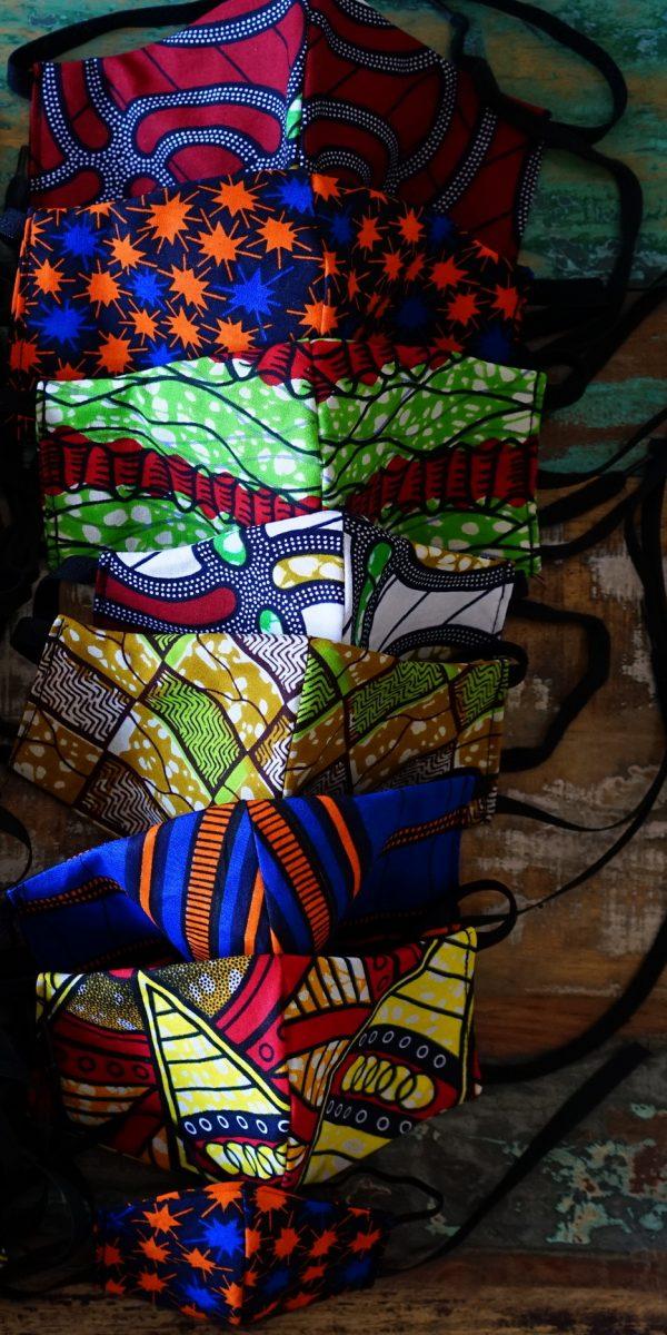 maseczka - afrykańskie maseczki