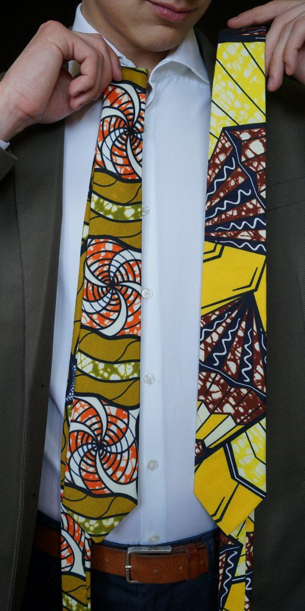 krawat - afrykańskie dodatki
