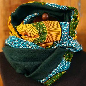 komin - afrykańskie tkaniny