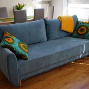 poduszki afrykańskie tkaniny