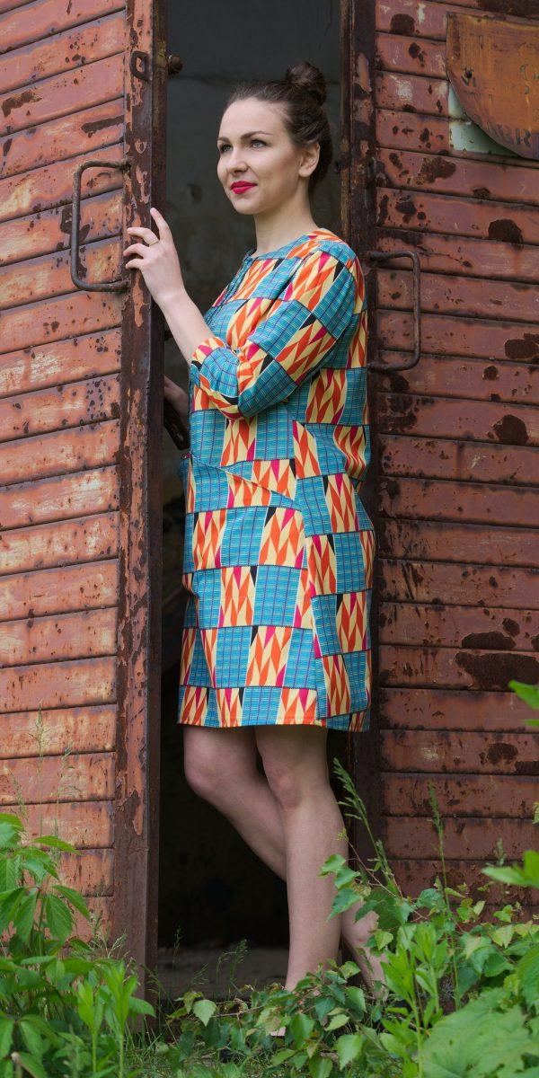 afrykańska sukienka - ubrania